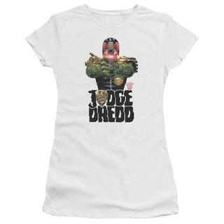Judge Dredd/In My Sights Junior Sheer in White
