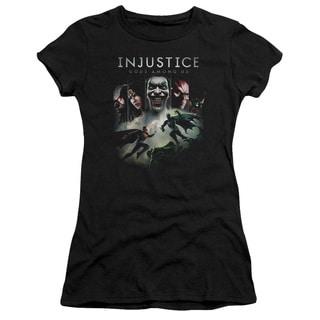 Injustice Gods Among Us/Key Art Junior Sheer in Black