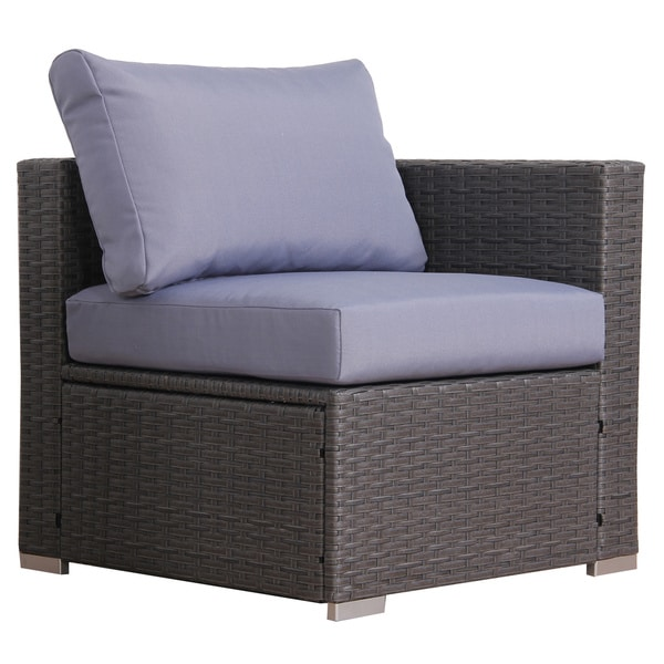 BroyerK Blue/Grey Rattan 10 Piece Patio Furniture Set   Free Shipping Today    Overstock.com   18846658