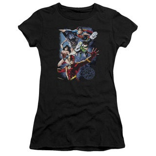 JLA/Galactic Attack Color Junior Sheer in Black