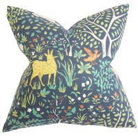 Elihu Floral Throw Pillow Cover