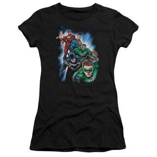 JLA/Heroes Unite Junior Sheer in Black
