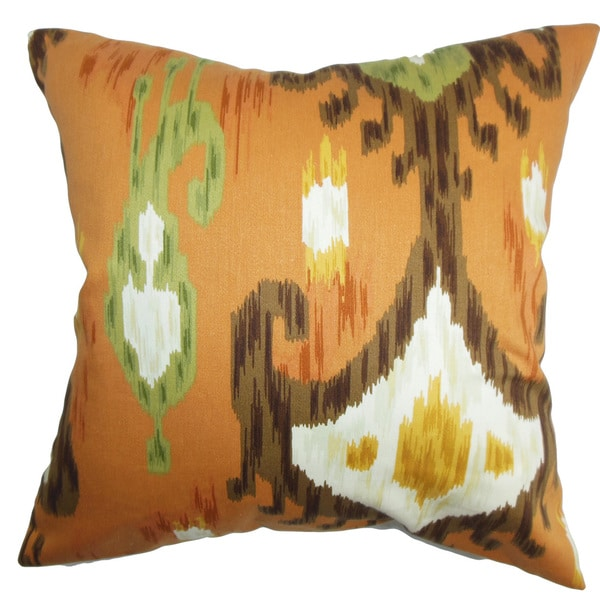 Talisha Ikat Throw Pillow Cover