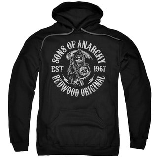 Sons Of Anarchy/Redwood Originals Adult Pull-Over Hoodie in Black