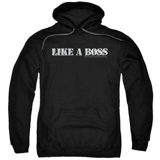 SNL/Like A Boss Adult Pull-Over Hoodie in Black