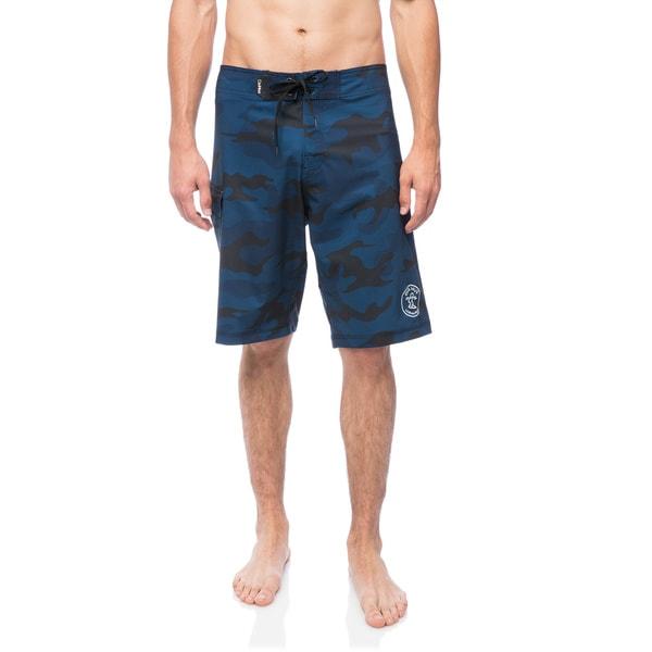 502511d6aa Shop DaHui Men's 4-Way Stretch Quick-dry Board Shorts - Free ...
