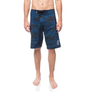 DaHui Men's 4-Way Stretch Quick-dry Board Shorts