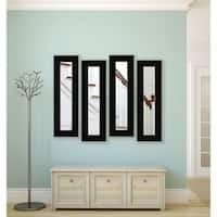 American Made Delta Black Panel Mirrors