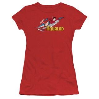DC/Aqualad Junior Sheer in Red