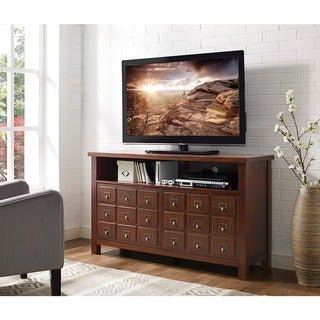 angelo:HOME 52-inch Apothecary TV Console - Walnut