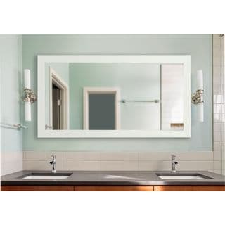 American Made Rayne Extra Large 39 x 78-inch Delta White Vanity Wall Mirror