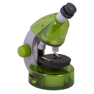 Levenhuk LabZZ M101 Lime Green 5 x 7.1 x 10.6-inch Kids Microscope