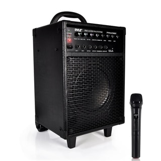 Pyle PWMA930IBT 600-watt 30-pin Rechargeable Battery Wireless Portable Bluetooth PA Speaker System
