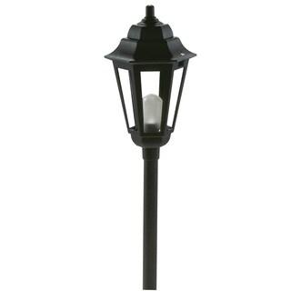 Paradise GL22768BK 12 Volt Black Savannah Style Path Light
