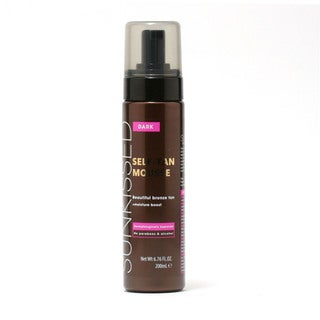 Sunkissed Dark Bronze 6.7-ounce Instant Self Tanning Mousse