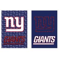 Suede and Glitter Double-sided New York Giants Flag