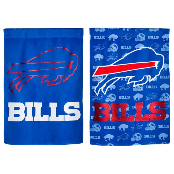 Buffalo Bills Double-sided Glitter Flag