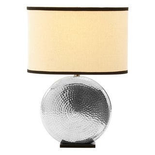 single light espresso brown metal table lamp with outlet. Black Bedroom Furniture Sets. Home Design Ideas