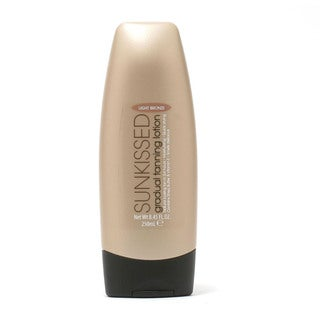Sunkissed Light Bronze 8.45-ounce Gradual Tanning Lotion