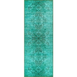 Alise Expo Multicolor Nylon Transitional Style Area Rug (2'7 x 7'3)