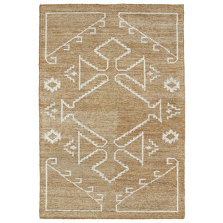 "Handmade Collins Copper & Ivory Nomad Rug (9'6"" x 13'0)"