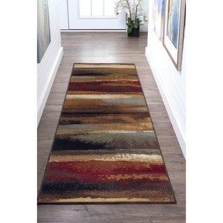 Alise Flora Contemporary Style Area Rug (2'7 x 7'3)