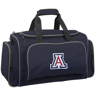 Wally Bags Arizona Wild Cats Blue Polyester 21-inch Collegiate Duffel Bag