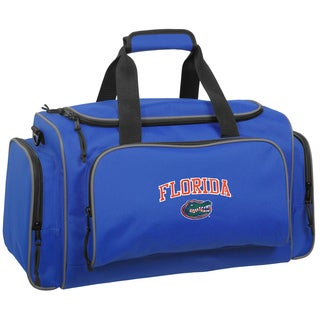 WallyBags Florida Gators Collegiate Blue Polyester 21-inch Duffel Bag