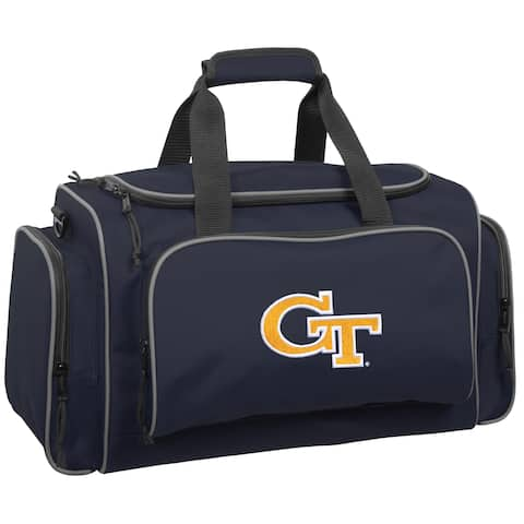 Wally Bags Georgia Tech Yellow Jackets Blue Polyester 21-inch Collegiate Duffel Bag
