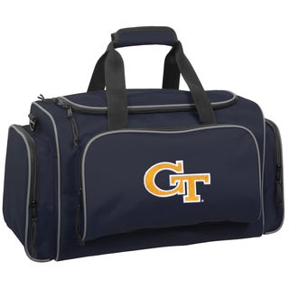 Wally Bags Georgia Tech Yellow Jackets Blue Polyester 21-inch Collegiate Duffel Bag
