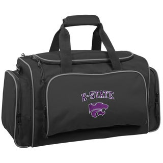WallyBags Kansas State Wildcats 21-inch Collegiate Duffel Bag