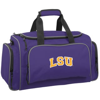 Wally Bags LSU Tigers Purple Polyester 21-inch Collegiate Duffel Bag