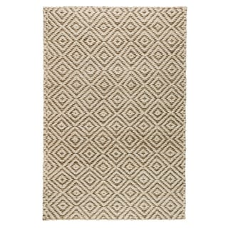 Kosas Home Handwoven Kali Jute Grey and Bleached Rug (2' x 3')