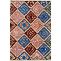 Pasargad Moroccan Wool Hand-knotted Rug (5' x 8')