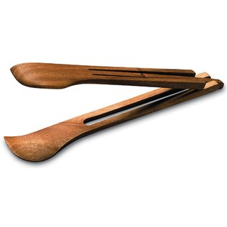 Ironwood Gourmet Acacia Wood Spring Salad Tongs
