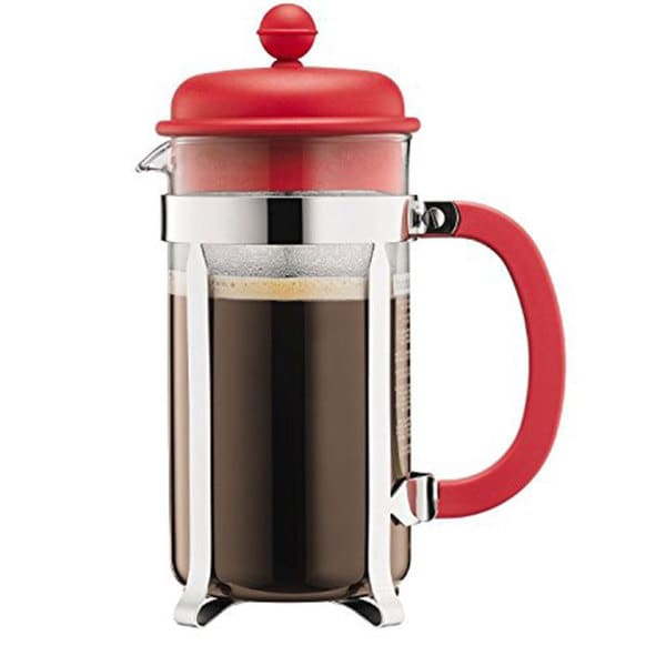 shop bodum caffettiera blue red green purple brown french press 8 cup coffee maker free. Black Bedroom Furniture Sets. Home Design Ideas