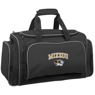 WallyBags Missouri Tigers 21-inch Collegiate Duffel Bag