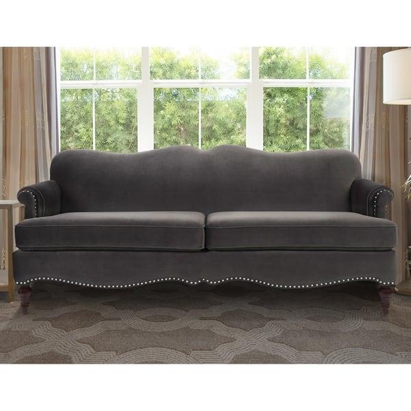 Camelback Detachable Cushion Sofa