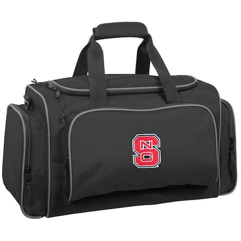 WallyBags NC State Wolfpack 21-inch Collegiate Duffel Bag