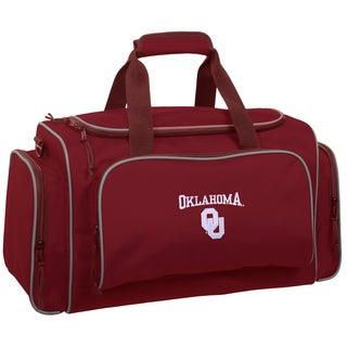 WallyBags Oklahoma Sooners 21-inch Collegiate Duffel Bag