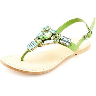 Matisse Women's Wizard Green Leather Sandals