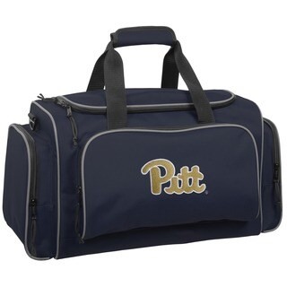 WallyBags 21-inch Pittsburgh Panthers Collegiate Duffel Bag