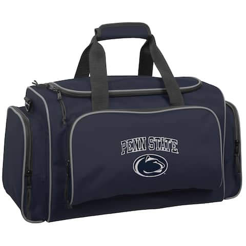 WallyBags Penn State Nittany Lions Navy Polyester 21-inch Collegiate Duffel Bag