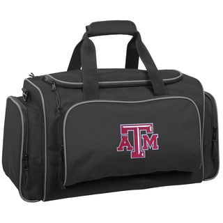 WallyBags Texas A and M University Aggies 21-inch Collegiate Duffel Bag
