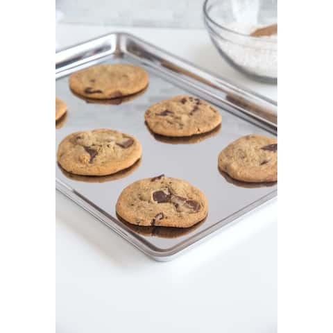 Fox Run Stainless Steel Jelly Roll/Cookie Pan - Silver