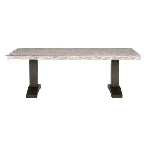 Abby BronzeGrey Finish GlassMetalPine Dining Table  : Abby Dining Table 948c622f 3dc8 4804 8d69 b1365324fe89600 from www.overstock.com size 600 x 600 jpeg 7kB