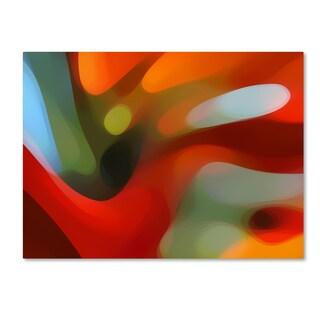 Amy Vangsgard 'Red Tree Light' Canvas Wall Art