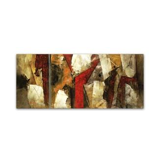 Abstract IX' Canvas Wall Art
