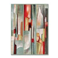 Joval 'Abstract Triptych' Canvas Wall Art