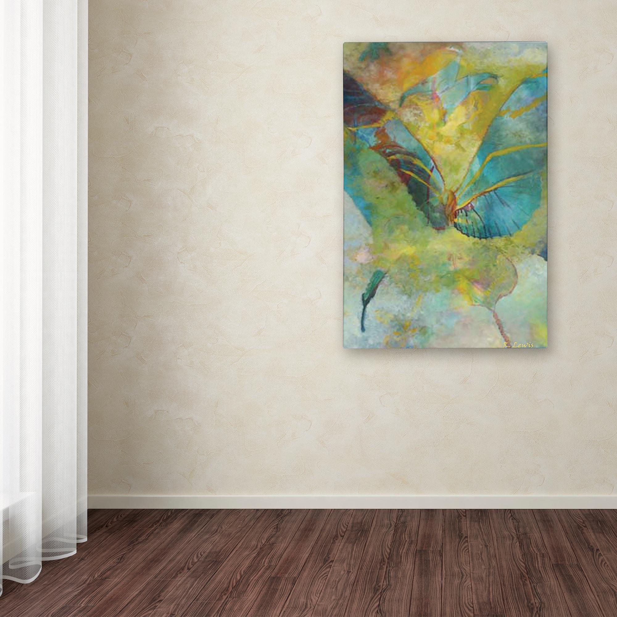 Rickey Lewis Butterflight Canvas Wall Art Overstock 11964025